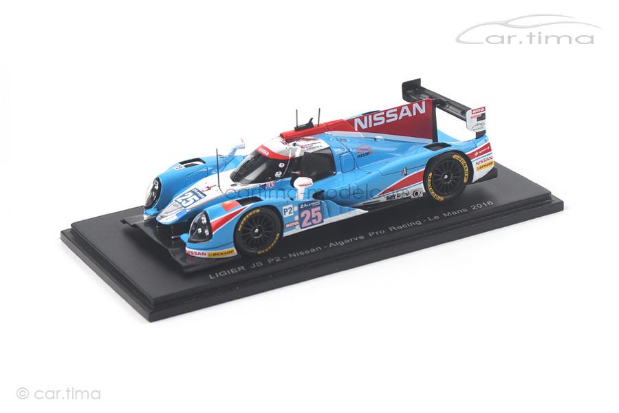 Ligier JS P2 Nissan 24h Le Mans 2016 Munemann/Hoy/Pizzitola Spark 1:43 S5110