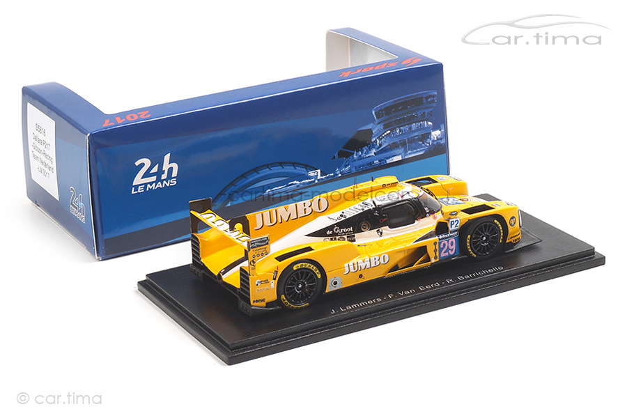 Dallara P217 24h Le Mans 2017 Barrichello/Lammers/Van Eerd Spark 1:43 S5816