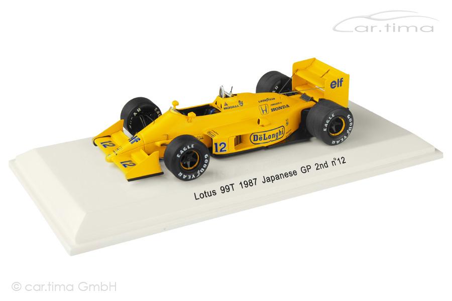 Lotus 99T GP Japan 1987 Ayrton Senna Rêve Collection 1:43 R70183
