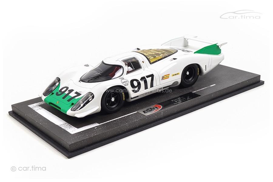 Porsche 917 Automobilsalon Genf 1969 Homologation BBR 1:18 BBRC1833A