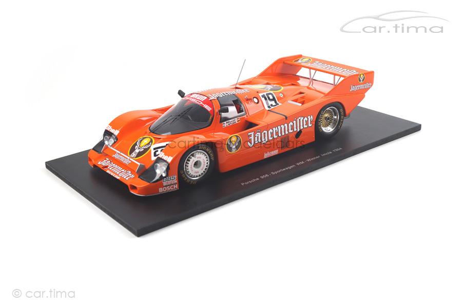 Porsche 956 Winner Imola 1984 Bellof/Stuck Spark car.tima EXCLUSIVE 1:18 CA01816002