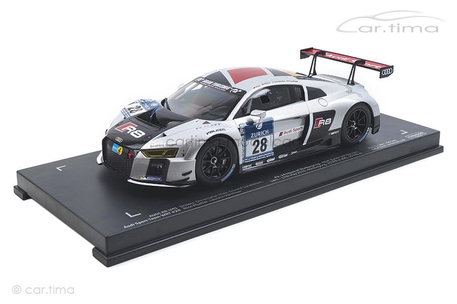 Audi R8 LMS Winner 24h Nürburgring 2015 Mies/Müller/Vanthoor Paragon 1:18 PA-88102