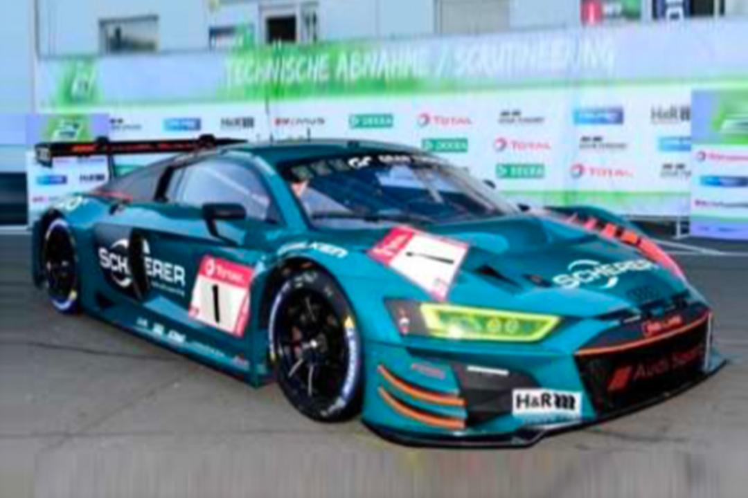 Audi R8 LMS GT3 24h Nürburgring 2020 Müller/Stippler/Vanthoor/Vervisch Spark 1:43 SG684
