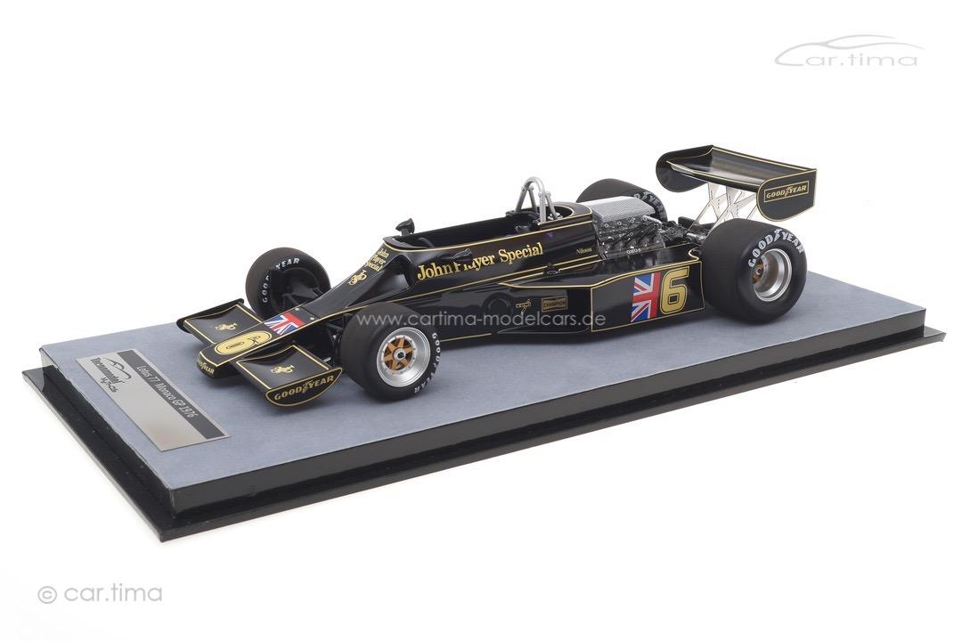 Lotus 77 GP Monaco 1976 Gunnar Nilsson Tecnomodel 1:18 TM18-175B