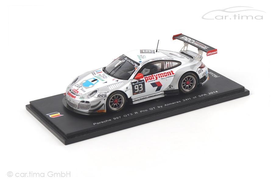 Porsche 911 (997 II) GT3 R 24h Spa 2014 Bonanomi/Dermont/Perera Spark 1:43 SB080