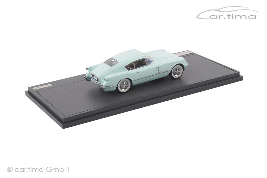 Chevrolet Corvette Covair Concept 1954 grün Matrix Scale Models 1:43 MX20302-091