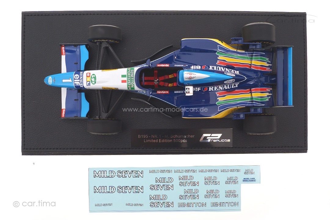 Benetton-Renault B195 World Champion 1995 Michael Schumacher GP Replicas 1:18 GP46A