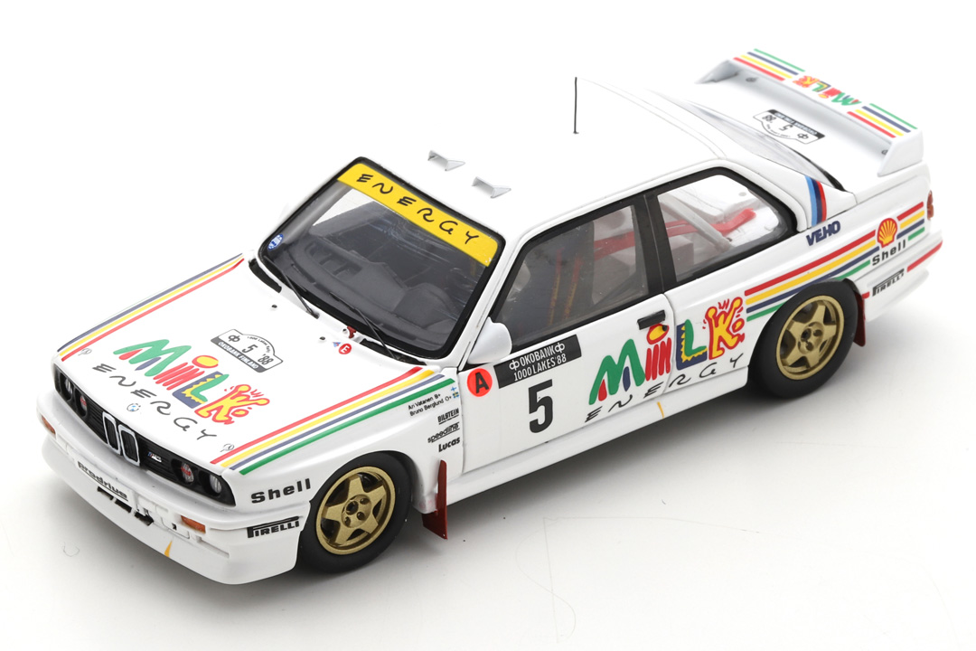 BMW M3 Rally 1000 Lakes Finnland 1988 Vatanen/Berglund Spark 1:43 S7826