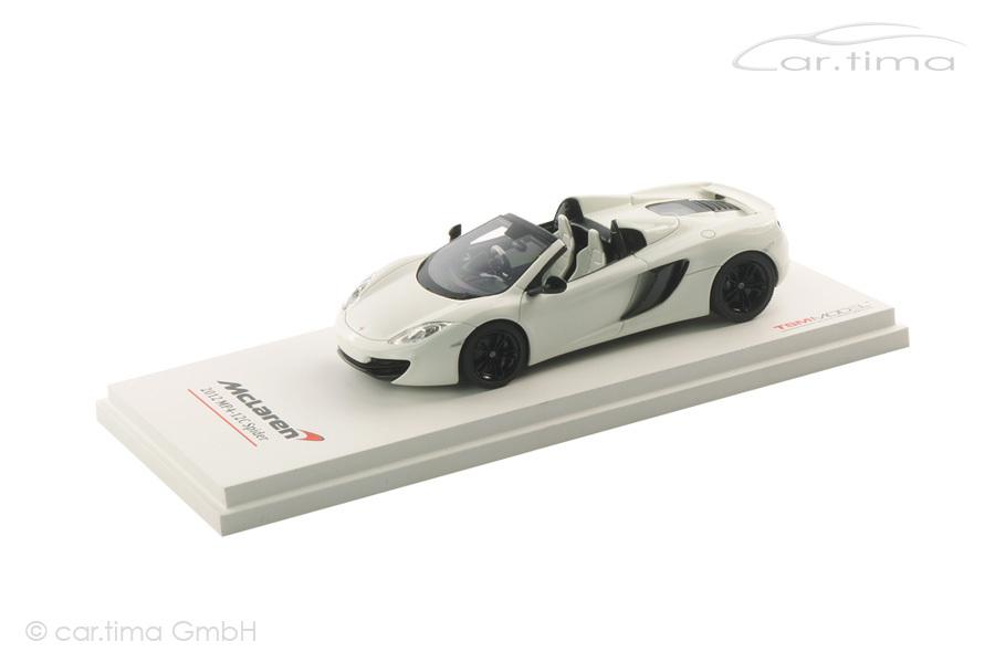 McLaren MP4-12C Spider weiß TSM 1:43 TSM134339