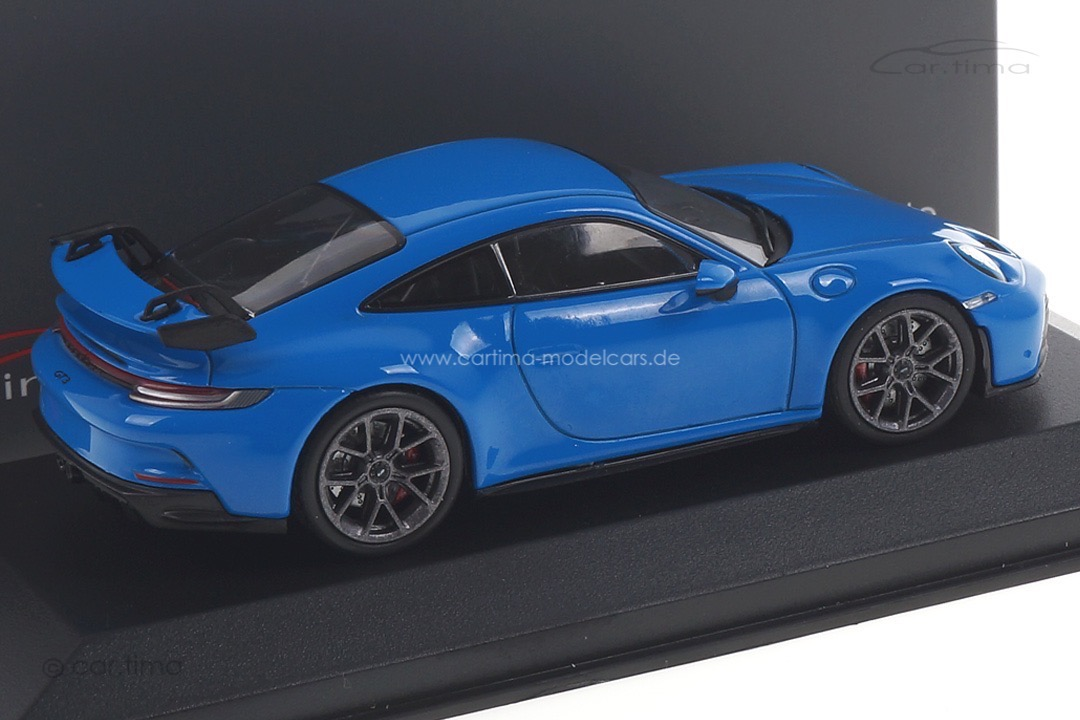 Porsche 911 (992) GT3 Sharkblue/Rad Darksilver Minichamps car.tima CUSTOMIZED 1:43