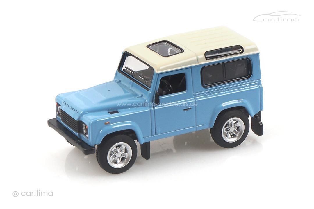 Land Rover Defender hellblau Schuco 1:64 452027500