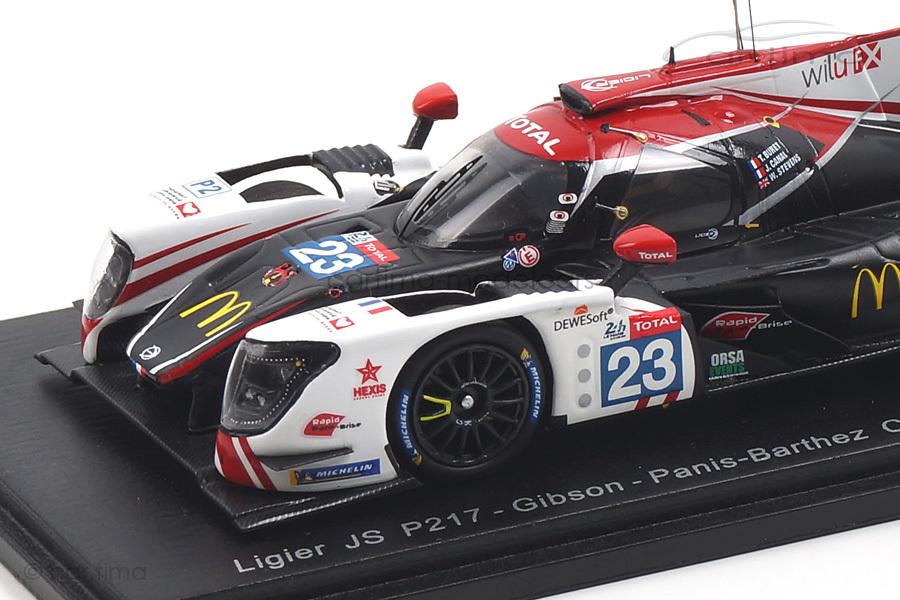 Ligier JS P217-Gibson 24h Le Mans 2018 Buret/Canal/Stevens Spark 1:43 S7011