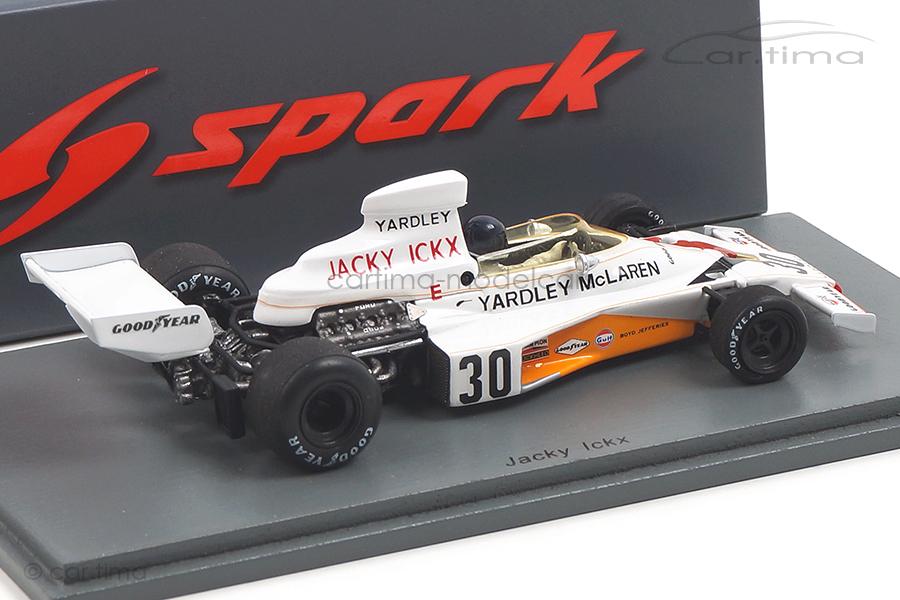 McLaren M23 German GP 1973 Jacky Ickx Spark 1:43 S7145