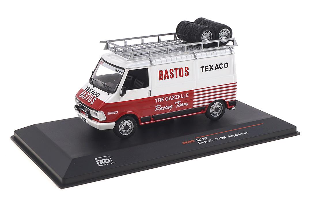 Fiat 242 Bastos Rally Assistance IXO 1:43 RAC292X