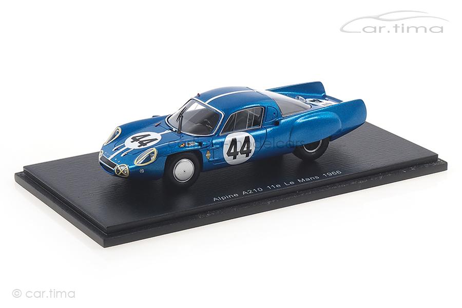 Alpine A210 24h Le Mans 1966 Cheinisse/de Lageneste Spark 1:43 S5491