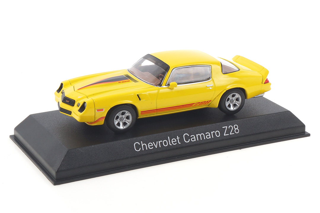 Chevrolet Camaro Z28 1980 gelb/rot Norev 1:43 900017