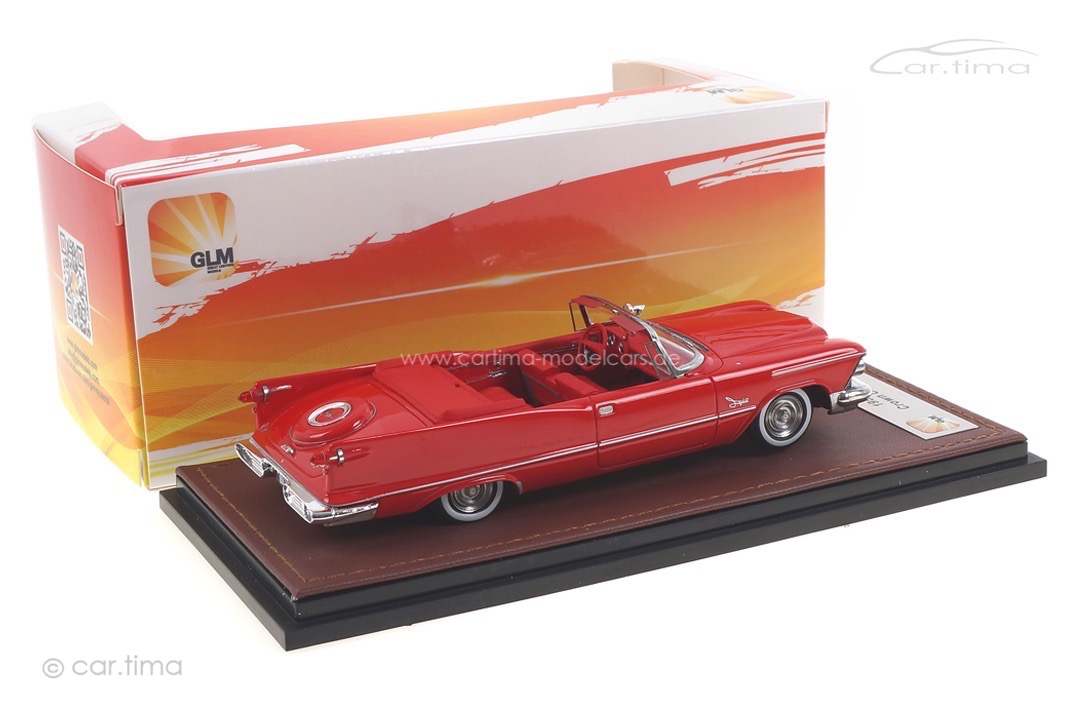 Chrysler Imperial Crown Convertible 1958 rot GLM 1:43 GLM131403