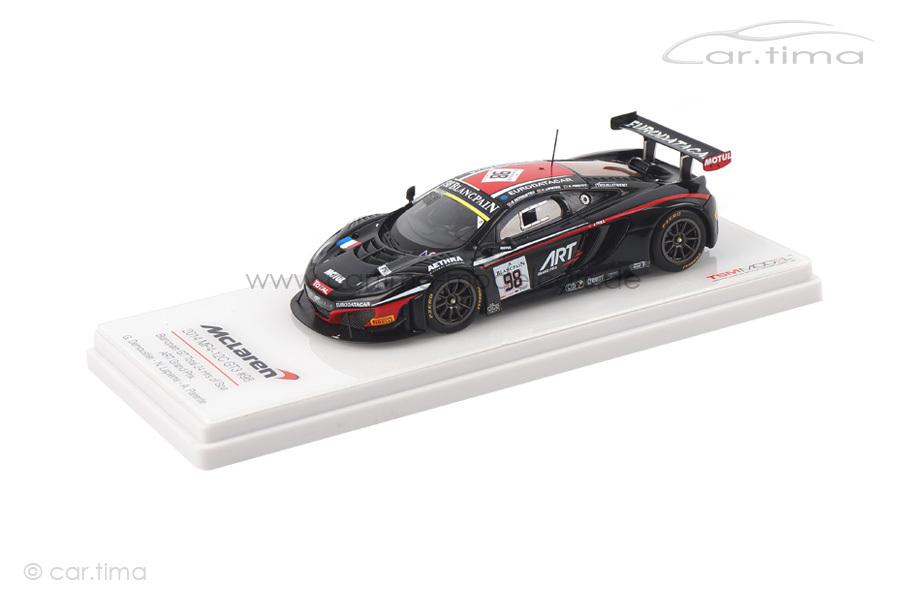 McLaren MP4-12C GT3 24h Spa 2014 Demoustier/Lapierre/Parente TSM 1:43 TSM154334