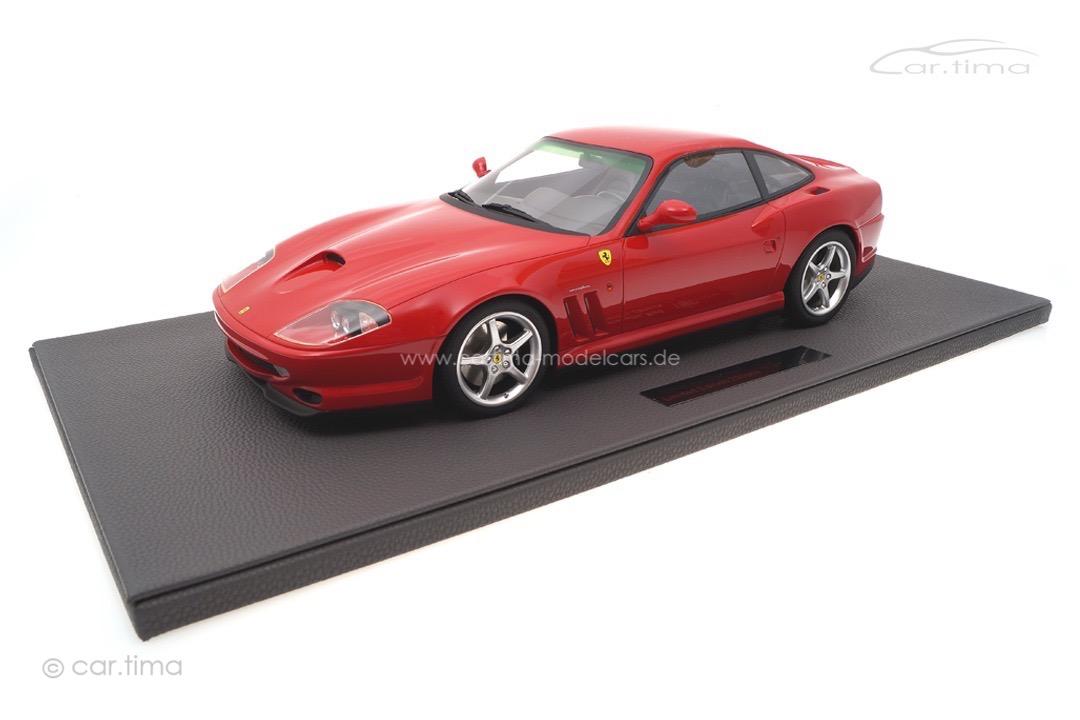 Ferrari 550 Maranello 1996 rot Top Marques 1:12 TM12-30A
