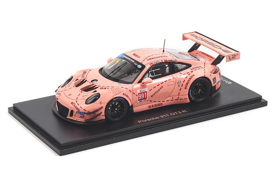 Porsche 911 (991) GT3 R China GT Championship Shanghai 2018 Spark 1:43 SA176
