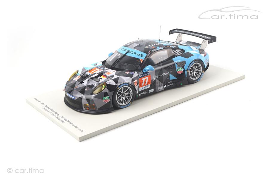 Porsche 991 RSR 24h Le Mans 2015 Dempsey/Long/Seefried Spark 1:18 18S196