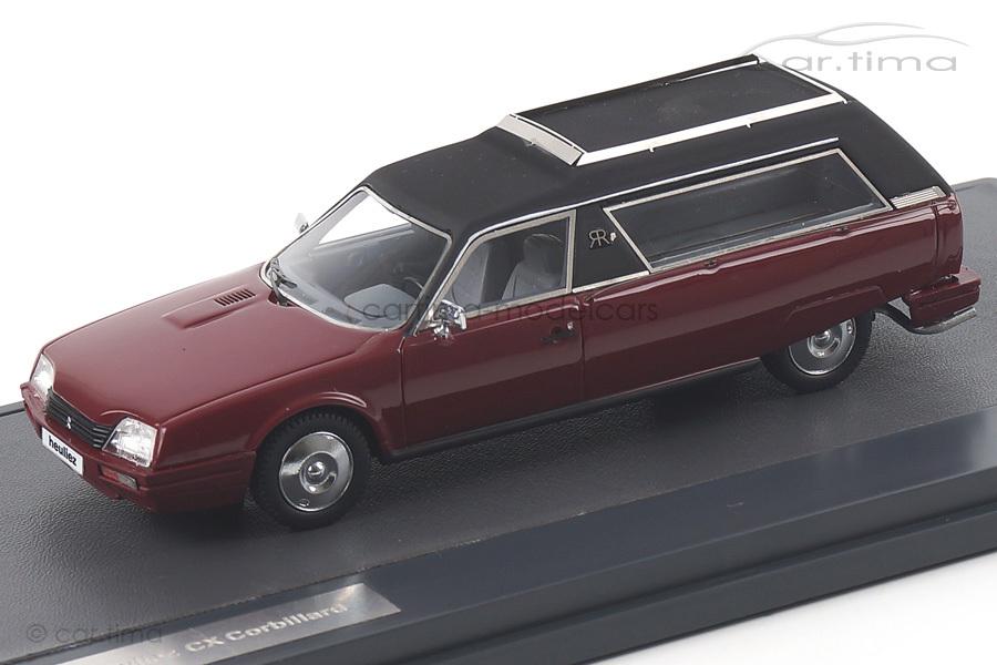 Citroen CX Heuliez Corbillard braun Matrix Scale Models 1:43 MX10304-041