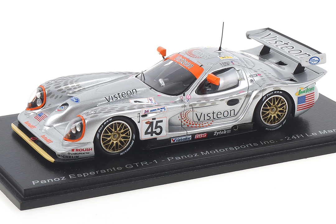 Panoz Esperante GTR-1 24h Le Mans 1998 Brabham/Davies/Wallace Spark 1:43 S5028