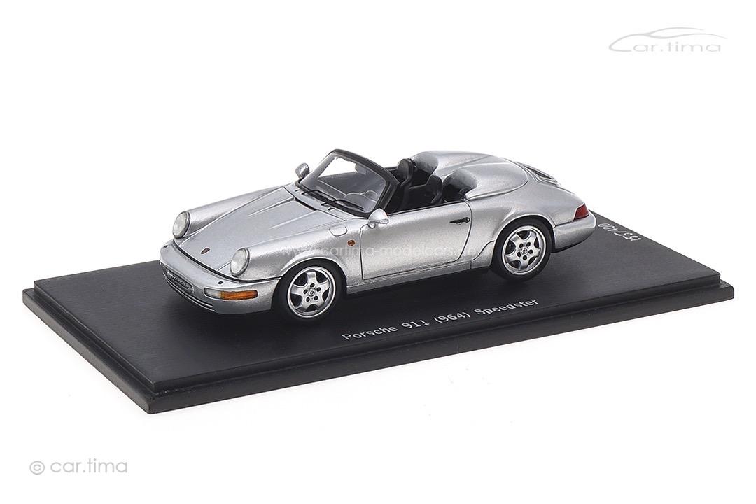 Porsche 911 (964) Speedster Arktissilber Spark 1:43 CAP04311011