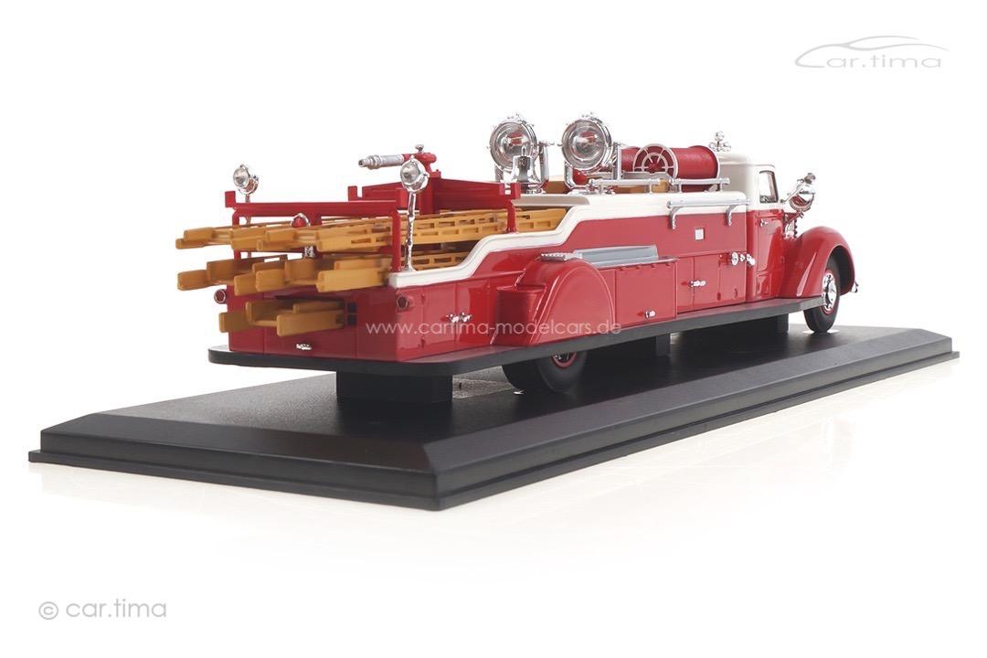 Diamond T City Service Ladder Truck rot/weiß autocult 1:43 12012