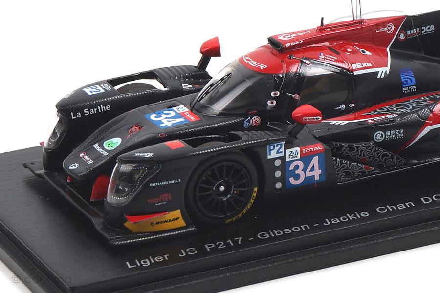 Ligier JS P217-Gibson 24h Le Mans 2018 Ledogar/Taylor Spark 1:43 S7019