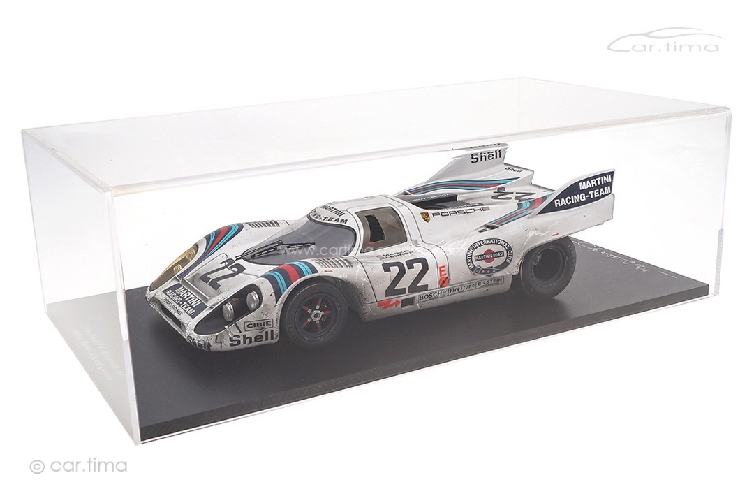 Porsche 917 Winner 24h Le Mans 1971 Marko/van Lennep car.tima FINISH LINE inkl. Vitrine