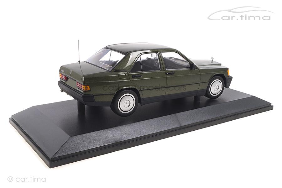 Mercedes-Benz 190E (W201) 1982 grün met. Minichamps 1:18 155037001