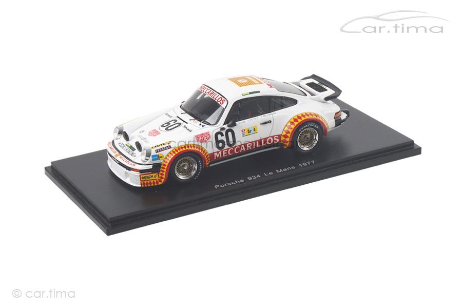 Porsche 934 24h Le Mans 1977 Haldi/Pallavicini/Vetsch Spark 1:43 S4751