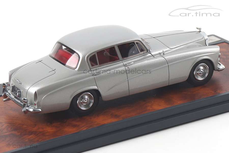 Bentley S2 Continental Sports Saloon Hoope 1959 silber Matrix Scale Models 1:43 MX40201-141