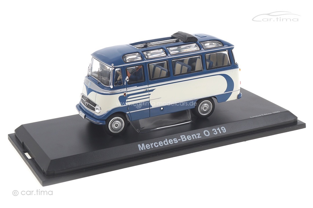 Mercedes-Benz O319 blau/beige 1:43 450282000