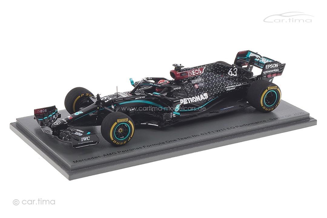 Mercedes-AMG Petronas F1 W11 GP Sakhir 2020 George Russell Spark 1:43 S6487