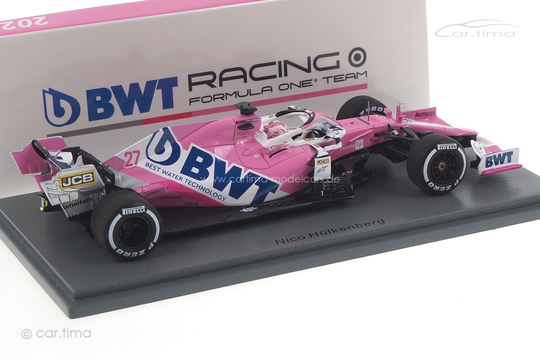 BWT Racing Point RP20 GP 70th Anniversary Nico Hülkenberg Spark 1:43 S6478