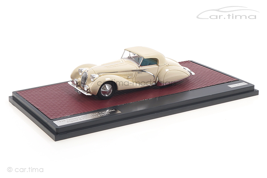 Talbot-Lago T150C Cabriolet Figoni & Falaschi 1936 weiß Matrix 1:43 MX41904-032
