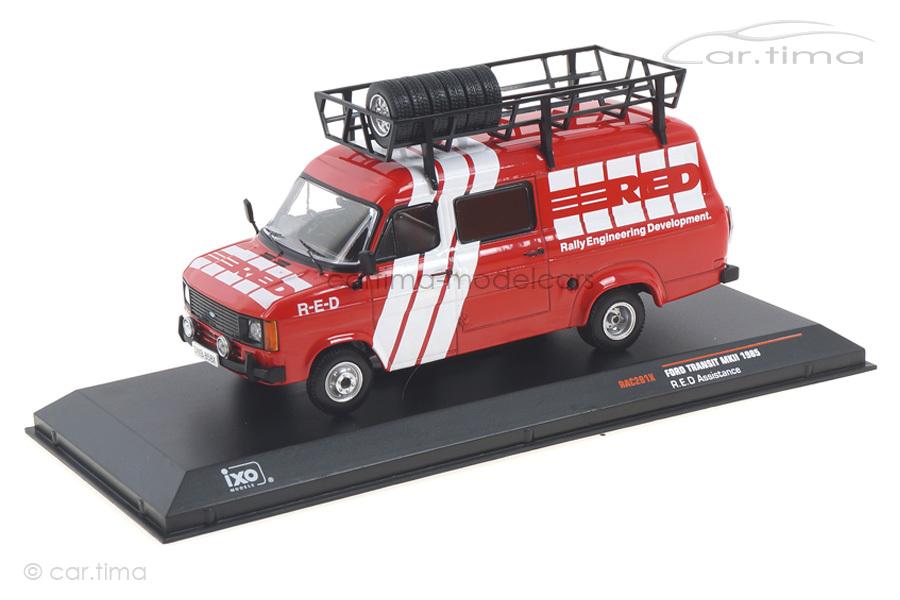 Ford Transit MKII Rallye Assistance IXO 1:43 RAC281X