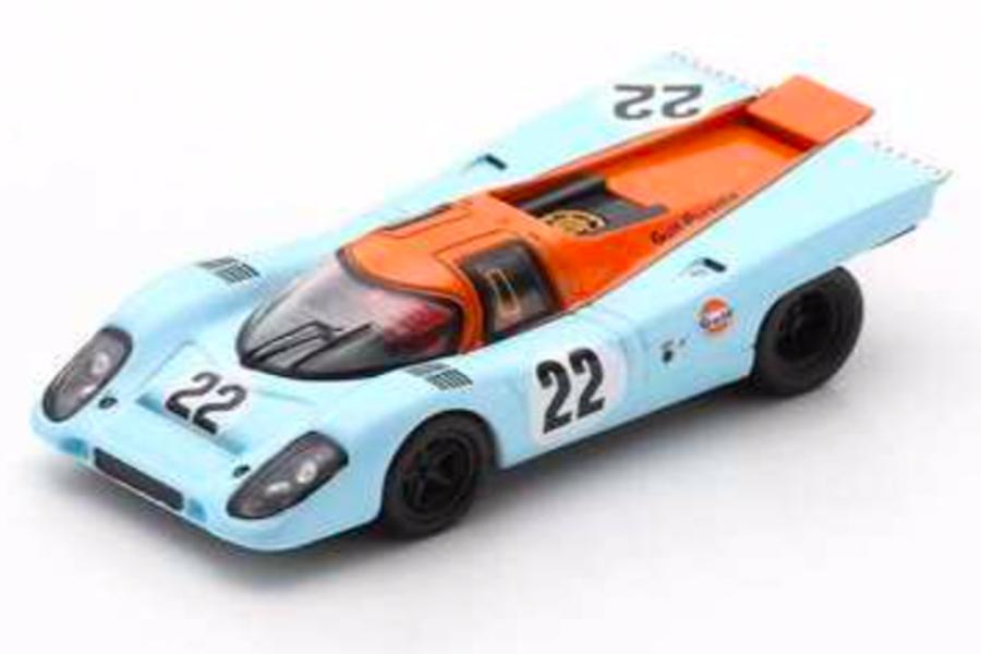 Porsche 917 K 24h Le Mans 1970 Hailwood/Hobbs Spark 1:64 Y145