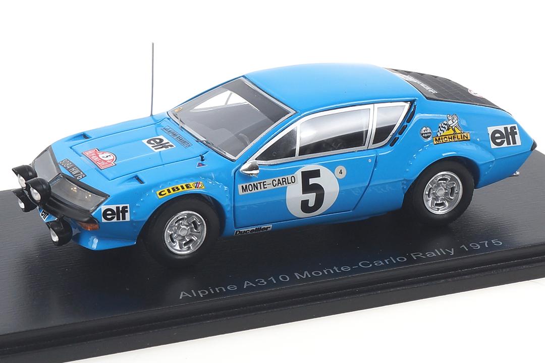 Alpine A310 Rallye Monte Carlo 1975 Thérier/Vial Spark 1:43 S5493