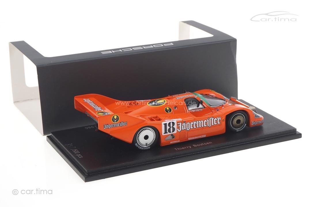 Porsche 956 100 Meilen Norisring 1986 Thierry Boutsen Spark 1:43 CAP04300111