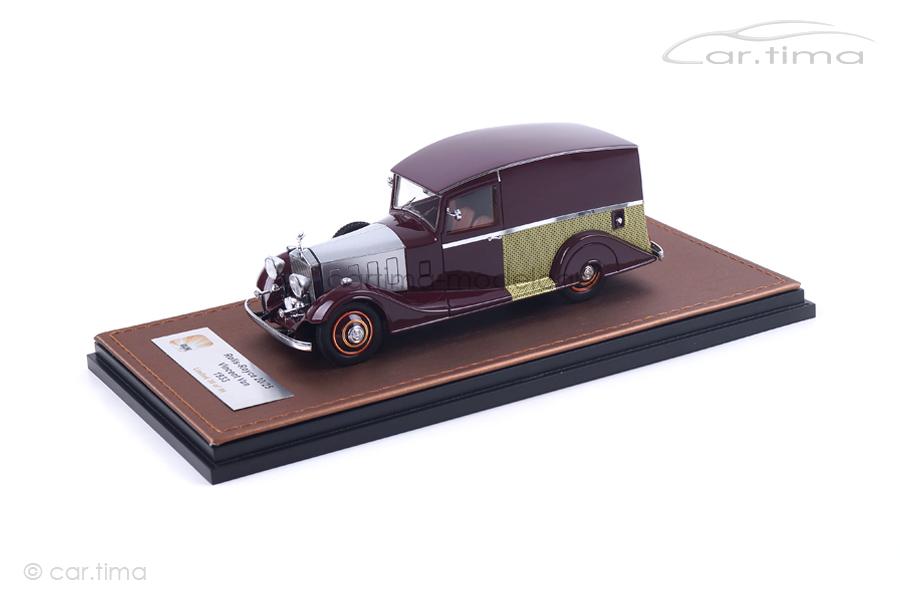 Rolls-Royce 20/25 Vincent Van 1933 rot GLM 1:43 GLM43205102
