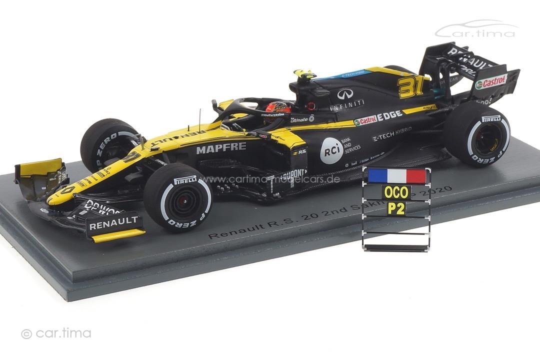 Renault R.S. 20 GP Sakhir 2020 Esteban Ocon Spark 1:43 S6486