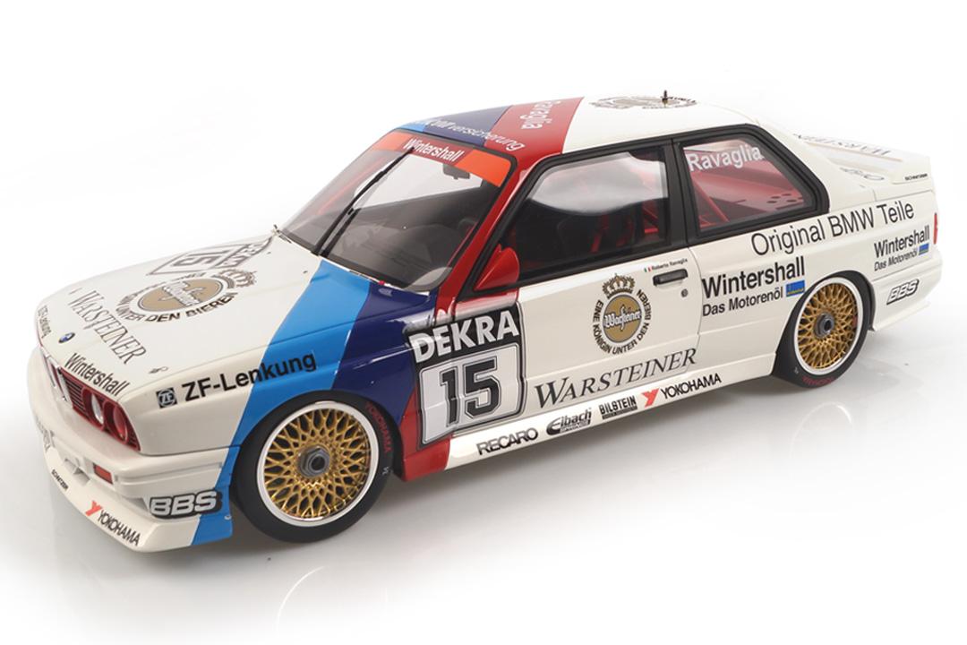 BMW M3 E30 DTM Champion 1989 Roberto Ravaglia OttOmobile 1:12 G055
