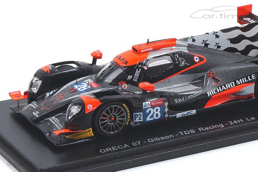 Oreca 07-Gibson 24h Le Mans 2018 Duval/Perrodo/Vaxiviére Spark 1:43 S7014