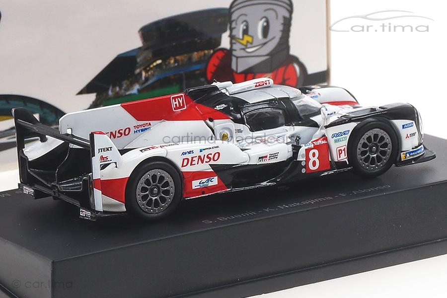Toyota TS050 Hybrid Winner 24h Le Mans 2019 Alonso/Buemi/Nakajima Spark 1:64 Y139