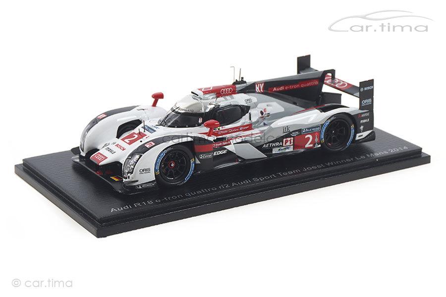 Audi R18 e-tron Winner 24h Le Mans 2014 Fässler/Lotterer/Tréluyer Spark 1:43 43LM14