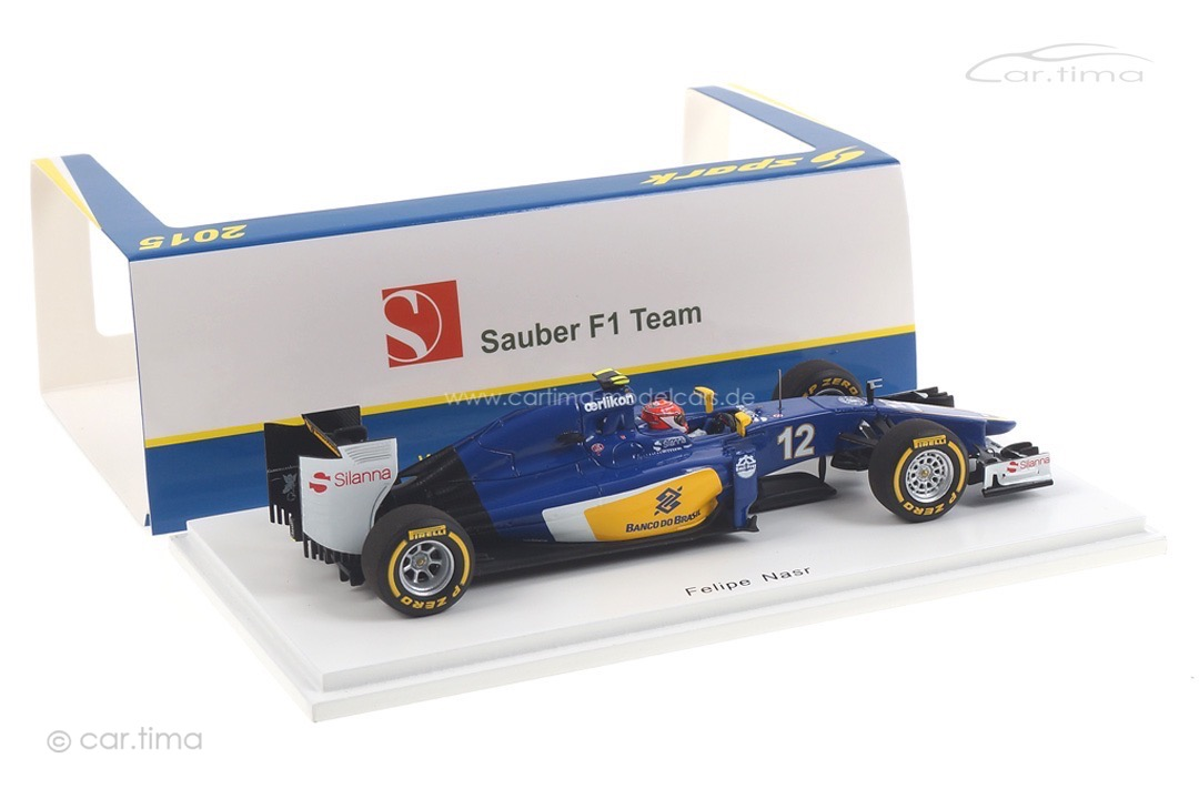 Sauber C34-Ferrari GP Australien 2015 Felipe Nasr Spark 1:43 S4609