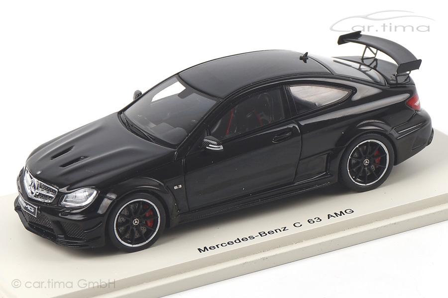 Mercedes-Benz C63 AMG schwarz Spark 1:43 S1079